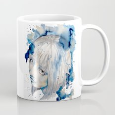 Nieves watercolor portrait by carographic Mug