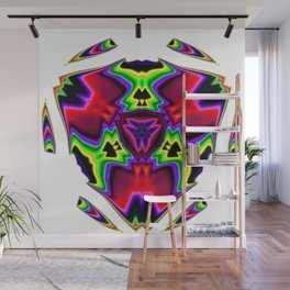 Power Transformation Abstract Wall Mural