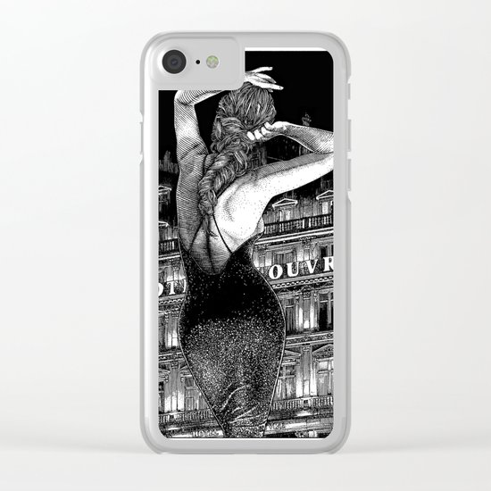 asc 686 - Le signal codé (Our cipher) Clear iPhone Case