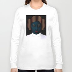 Princess Leia Art - Tribute to Carrie Fisher Long Sleeve T-shirt