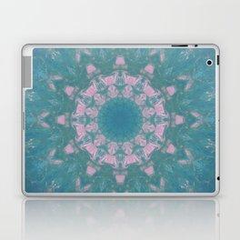 Navajo Turquoise Gemstone Mandala No. 40 Laptop & iPad Skin