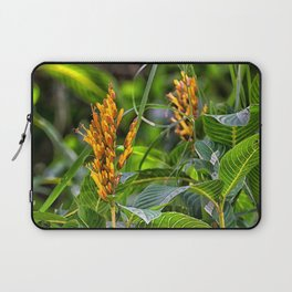 Yellow flower in the rain forest Laptop Sleeve