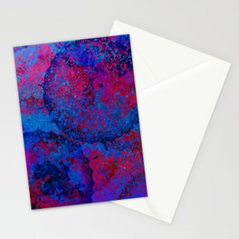 Abstract Spray Stationery Cards