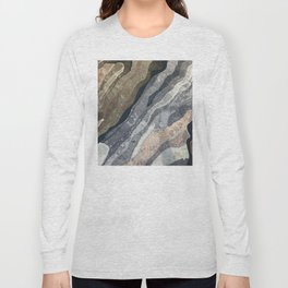 Abstract Color Patterns Long Sleeve T-shirt