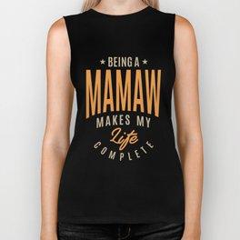 Being a Mamaw Biker Tank