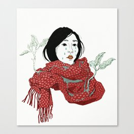 Strawberry Sadness Canvas Print