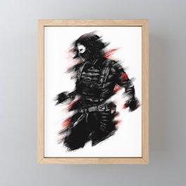 The Winter Soldier Framed Mini Art Print