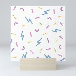 Jazzy Confetti Dance Party Mini Art Print