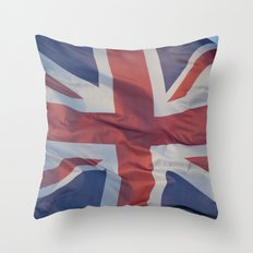 Britain Throw Pillow