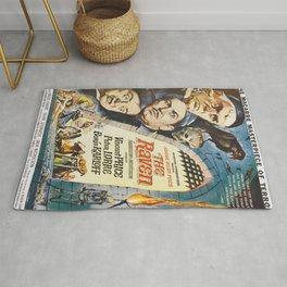 Vintage poster - The Raven Rug