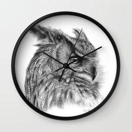 Eagle Owl G085 Wall Clock