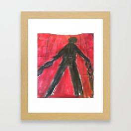 The Monster (Prisoner) Framed Art Print