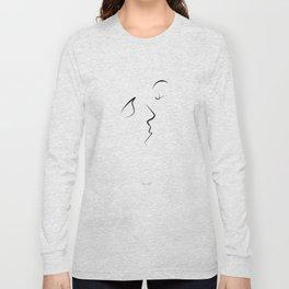 Kiss/beso/kuss/baiser/beijo/ Long Sleeve T-shirt