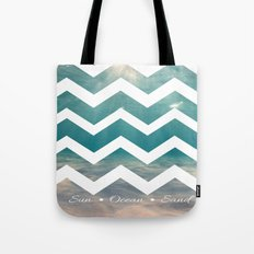 Summer Underwater Tote Bag