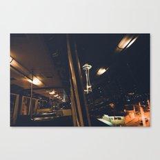 The Monorail Canvas Print