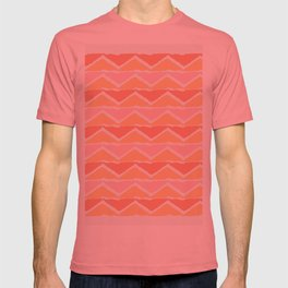 triangle sunset T-shirt