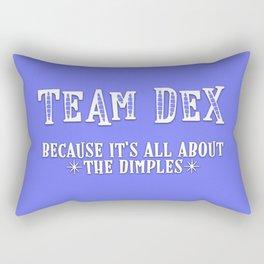 Team Dex Rectangular Pillow