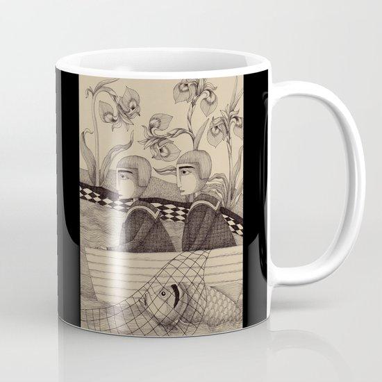 The Golden Fish (1) Mug