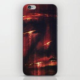Red I iPhone Skin