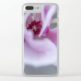 Secret Heart Clear iPhone Case