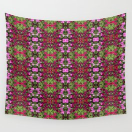 Petunia Red Rug Wall Tapestry