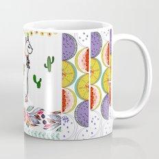 Llama Illustration Mug