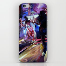 The Bride's Dance. iPhone Skin