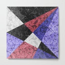 Marble Geometric Background G435 Metal Print