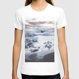 Ice Beach - Landscape and Nature Photography T-shirt