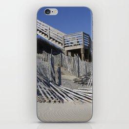 Beach Lines iPhone Skin
