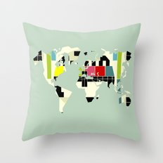 This is not a test Throw Pillow