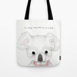 kimberly koala Tote Bag