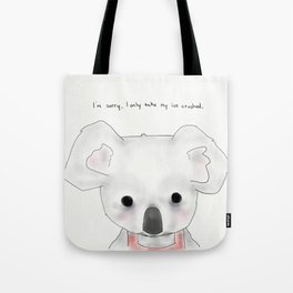 kimberly koala Tote Bag