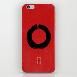 ENSO IN JAPAN iPhone Skin