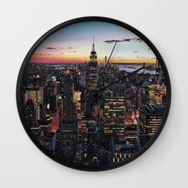 NY CITY Wall Clock