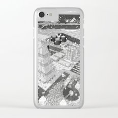 Frackpool 03 Clear iPhone Case