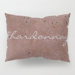 Chardonnay Wine Red Travertine - Rustic - Rustic Glam Pillow Sham