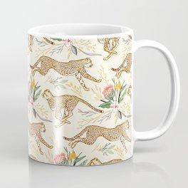 Weightless Cheetahs in Boundless Safari  Coffee Mug