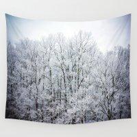 frozen Wall Tapestries featuring Frozen  by JMcCool