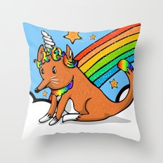 Unifox Throw Pillow