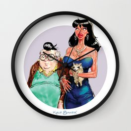 Ronnie and Dilton Wall Clock