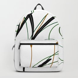 Abstract Grass Backpack