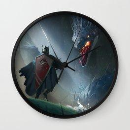 Lurker Wall Clock
