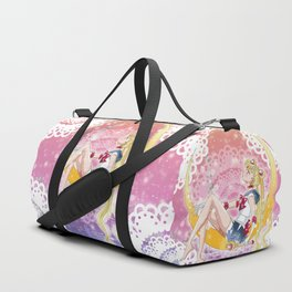 Fly Me To The Moon Duffle Bag