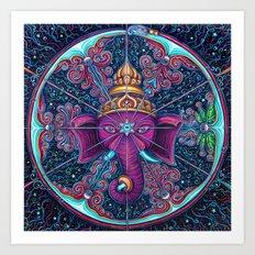 Eye of Ganesh Art Print