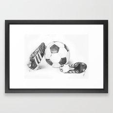Football Framed Art Print