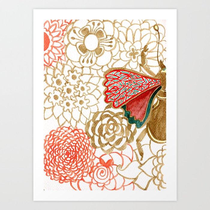 Pacita Art Print