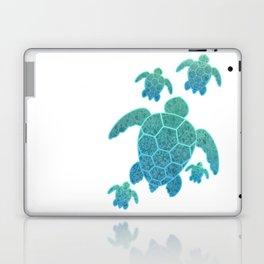 A Family of Sea Turtles Laptop & iPad Skin