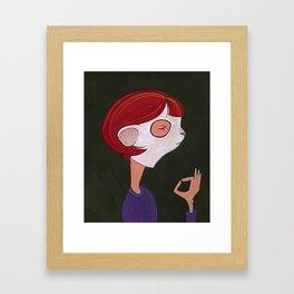 Um Framed Art Print