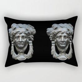 Nice pair of knockers Rectangular Pillow